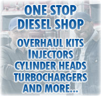 One Stop Diesel Shop: Overhaul Kits, Injectors, Cylinder Heads, Turbochargers, and More...