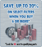 Saveup to 20% on select filters when you buy 6 or more
