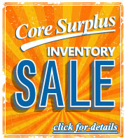 Core Surplus Inventory Sale