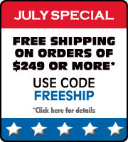 Receive Free shipping on Your Order of $249 or More in July