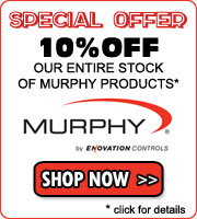 10% off our entire stock of Murphy controls