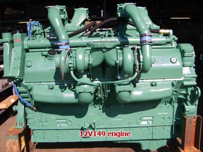 Detroit Diesel 12V149 engine