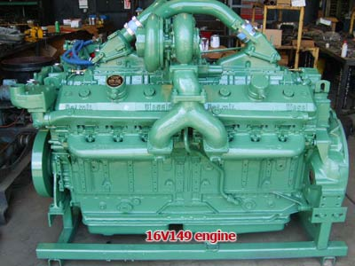 Detroit Diesel 16V149 engine