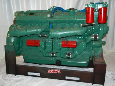 Detroit Diesel 16V71 engine