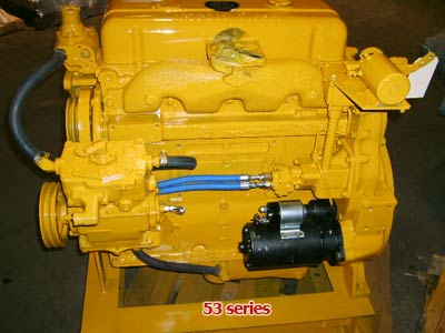 Detroit Diesel 53 Series engine