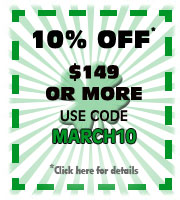 Save 10%on your purchase of $149 or more
