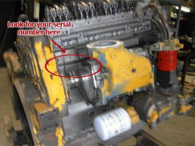 Detroit Diesel Engine Serial Number | Diesel Parts Direct