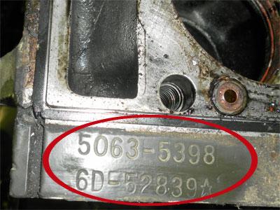 V Closeup on Duramax Cylinder Configuration