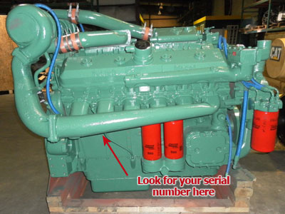 Detroit Diesel Engine Serial Number | Diesel Parts Direct