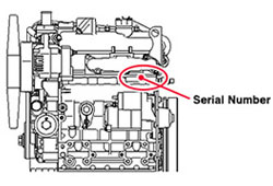 Where To Find My Kubota Engine Serial Number