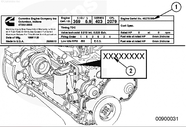 Cummins Engine Serial Number Lookup | Diesel Parts Direct